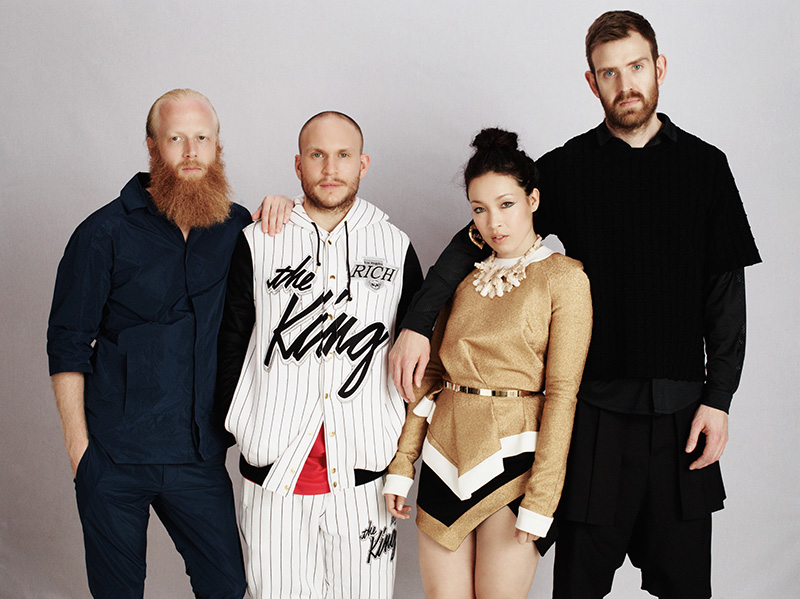 Little Dragon. Photo Nik Hartley